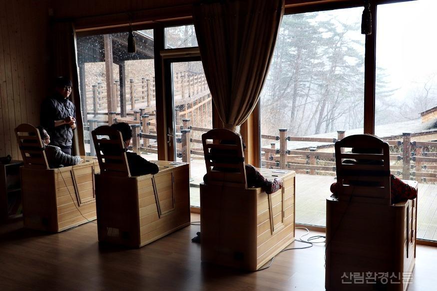 (사진7) 국립대관령치유의숲 온열치유 프로그램.JPG