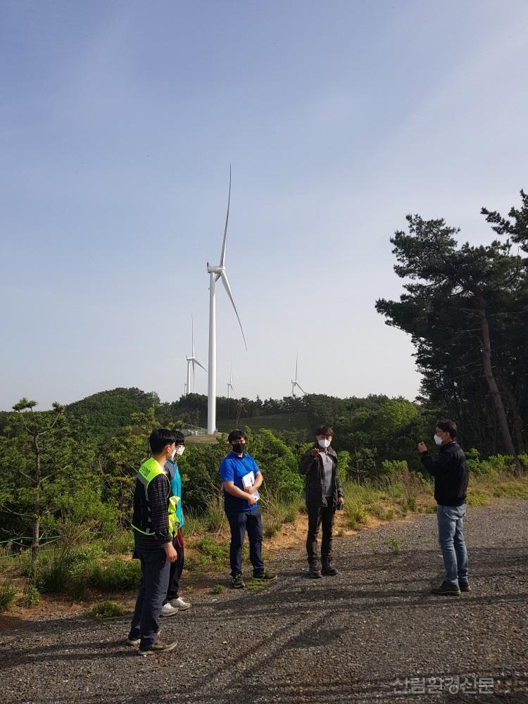 장마철 호우기 대비 산지 풍력, 태양광발전시설 현장점검.JPG