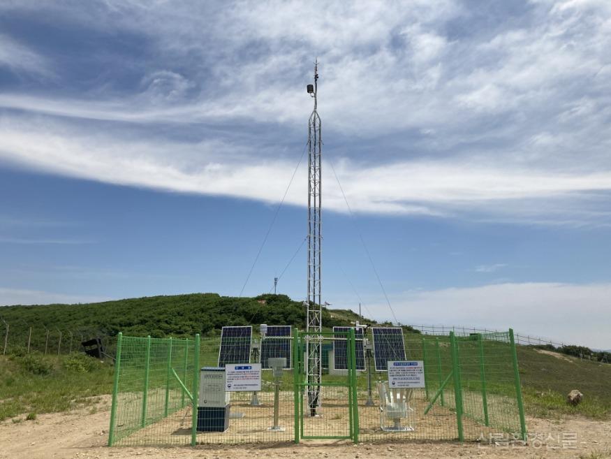 (관련사진) 북부지방산림청, 산악기상 관측망 10개소 추가 설치 완료.JPG
